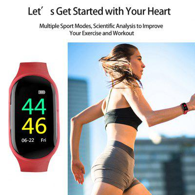 M1 AI Men Smartwatch with Bluetooth Earphone Heart Rate Monitor
