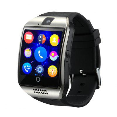 SmartWatch Q18 with Touch Screen camera TF card Bluetooth smart watch Silve
