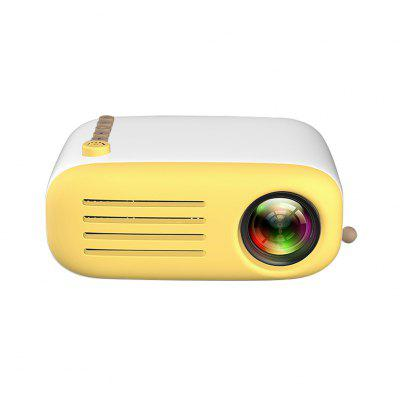 YG200 Portable Projector 500-600LM 1080P 320x240 Home Theater Player