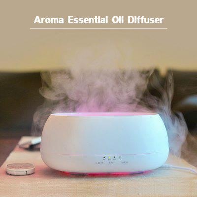 500ml Aroma Essential Oil Diffuser Air Humidifier with 7-Color Night Light
