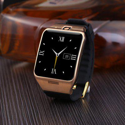 Bluetooth Smart Wrist Watch For Android Phones With SIM TF Card Slot Gold