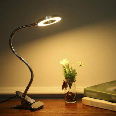 LAOPAO led clip desk lamp flexible 3000k 4000k 6000k 10 level dimming LED book light