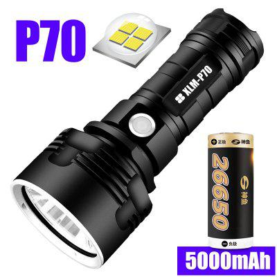 Super Powerful LED Flashlight L2 XHP50 Tactical Torch USB Rechargeable Linterna Waterproof Lamp