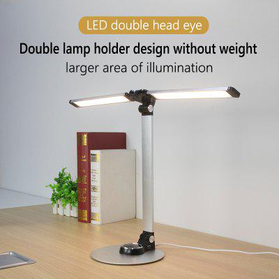 LAOPAO NEW Led Reading Desk Lamp With Dual lamp 56PCS Bules Stepless Dimming Eye Protect