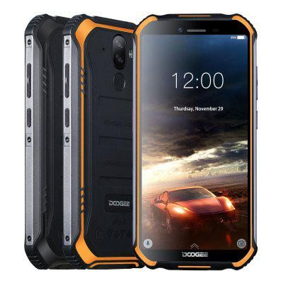 DOOGEE S40 Rugged Mobile Phone 5.5inch 4650mAh MT6739 Quad Core 3GB 32GB Android 9.0 8.0MP IP68 Image