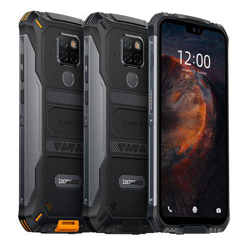 IP68 Waterproof DOOGEE S68 Pro Rugged Phone Wireless Charge NFC 6300mAh 12V2A Charge 5.9 inch FHD