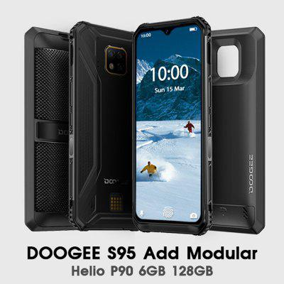 IP68 IP69K DOOGEE S95 super  Modular Rugged Mobile Phone 6.3inch Display 5150mAh Helio P90 Octa Core Image
