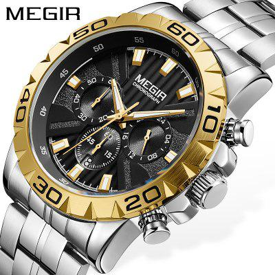 MEGIR 2087  Men Quartz watch Business Waterproof Mens Watches