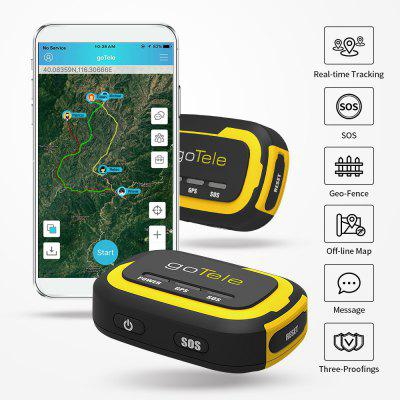goTele GPS Tracker - No Network Required Mini Portable Off-grid Real Time GPS Tracking Device