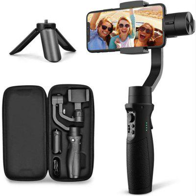 3-Axis Gimbal Stabilizer for iPhone X XR XS Smartphone Vlog Youtuber Live Video Record