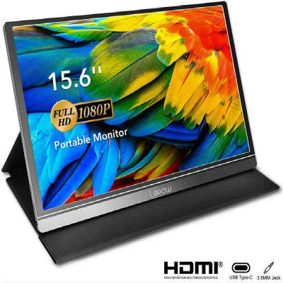 Portable Monitor -  Lepow 15.6 Inch Full HD 1080P USB Type-C Computer Display IPS Eye Care Screen