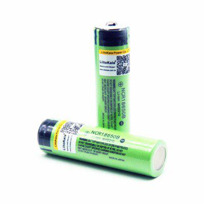 LiitoKala 18650 3400mah NCR18650B 3.7v 3400mah Lithium Rechargeable Battery For Flashlight batteries