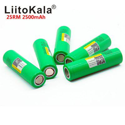 Liitokala 18650 2500mah INR1865025R 20A discharge lithium batteries electronic Battery