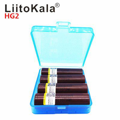 LiitoKala HG2 18650 3000mAh battery 18650HG2 3.6V discharge 20A dedicated For hg2 batteries