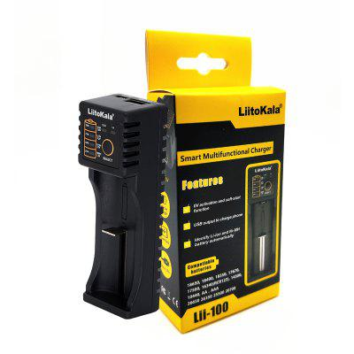LiitoKala lii-100 lii-202 lii-402 1.2V 3.7V 3.2V 3.85V 18650 18350 26650  NiMH battery smart charger