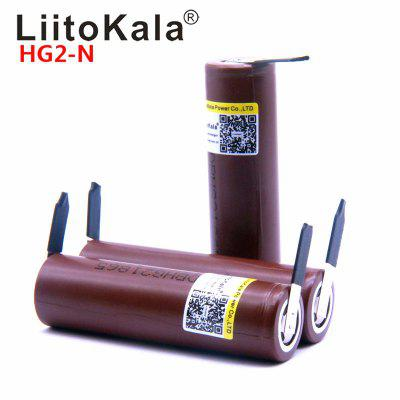 LiitoKala HG2 18650 3000mAh battery 18650HG2 3.6V discharge 20A dedicated batteries  DIY Nickel