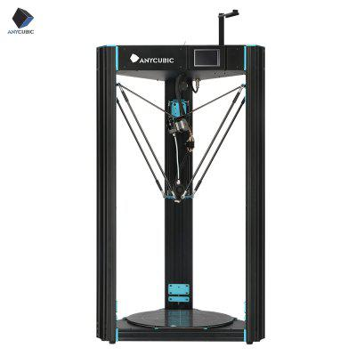 ANYCUBIC 3D Printer Predator 370x370x455mm Largest Delta Pulley with Auto Leveling Plus Size