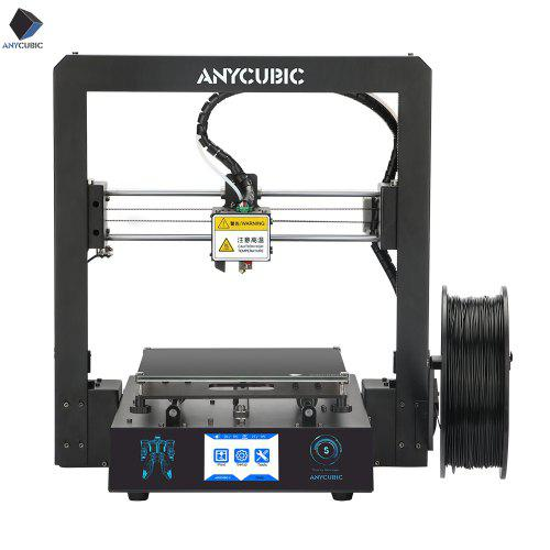 ANYCUBIC Mega-S 3D Printer I3 Mega Facesheild Large Plus Size Full Metal TFT Touch Screen 3D Drucker - Black