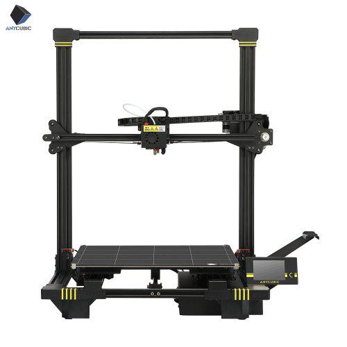 ANYCUBIC Chiron 3D Printer Plus Size TFT Auto-leveling Facesheild 3d Titan Extruder Dual Z Axisolor