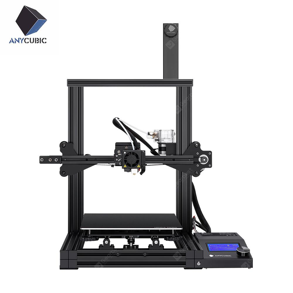 ANYCUBIC MEGA ZERO 3D PRINTER Quick Assembly Double Gear Extrusion TPU DIY kit