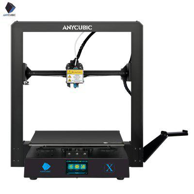 ANYCUBIC 2020 New Facesheild Mega X 3D Printer Full Metal 3d printer TFT Touch Screen High Precision