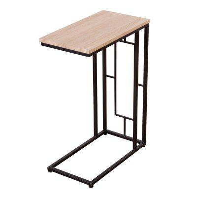 Modern Coffee Table Side Table Strong Square Steel Tubing Frame Sofa End Table HW54409