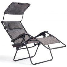 Recliner Lounge Chair Shade Canopy