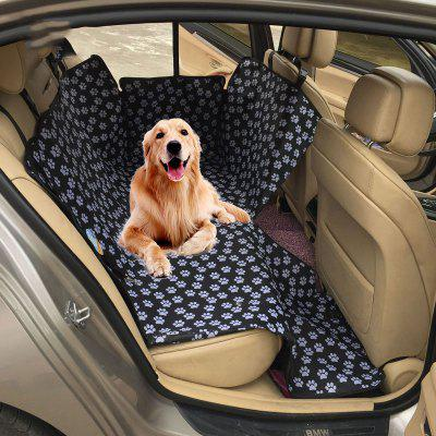 Waterproof Rear Back Pet Dog Car Seat Cover Mats Hammock Protector with Safety Belt