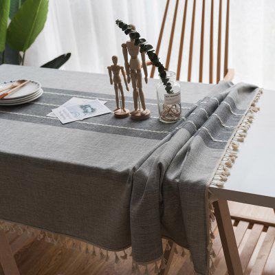 Decorative Table Cloth Linen Lace Tablecloth Rectangular Tablecloths Dining Table Cover