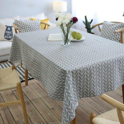 Decorative Table Cloth Cotton Linen Tablecloth Rectangular Tablecloths Dining Table Cover
