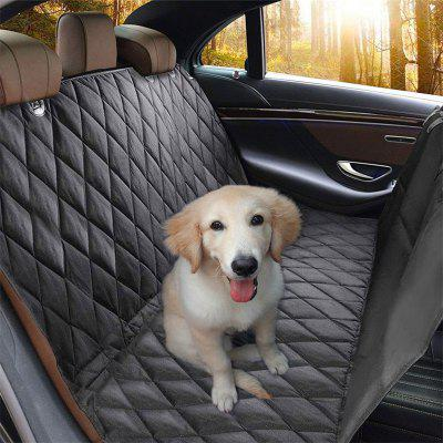 Luxury Dog Carriers Waterproof 600D Oxford Pet Dog Car Seat With Anchors Hammock PS6893