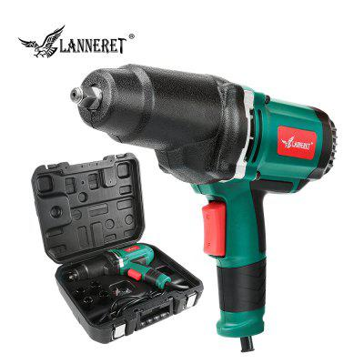 LANNERET 950W Electric Impact Wrench  Car Socket Household Professional Wrench Changing Tire Tools