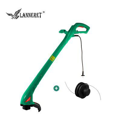 LANNERET 250W 220mm AC Electric Grass Trimmer Hand Cleaner Grass Cutter Machine Line Trimmer