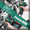 LANNERET Electric Impact Wrench Battery and CigaretteLighter 12V 2in1 300N.m