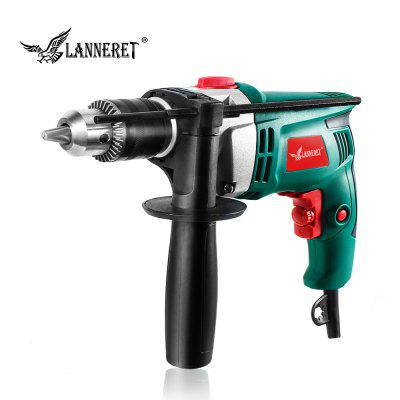 LANNERET 710W Electric Drill Hammer Drill Impact Drill Multi-function Adjustable Speed