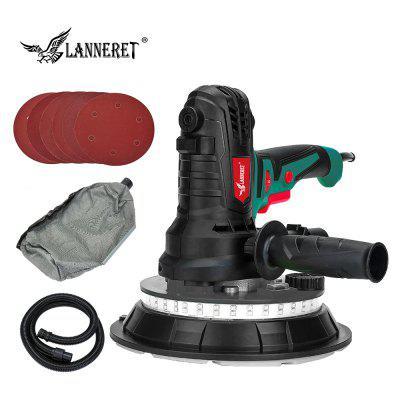 LANNERET 850W Wall Polisher Dry Wall Sander Handheld Drywall Sander Dust Free