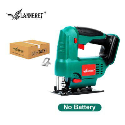 LANNERET Cordless Jig Saw 20V Electric Saw 3 Orbital and Straight Cut Adjustable working Angle
