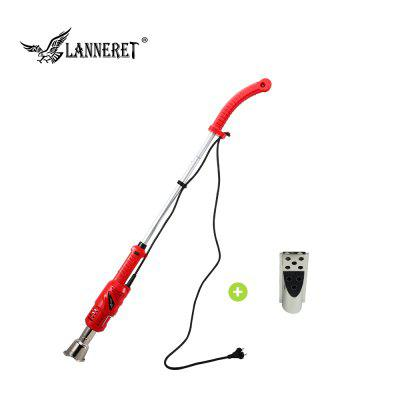 LANNERET 2000W Weed Burner Electric Thermal Weeder Hot Air Weed Killer Grass Flame of Garden Tool