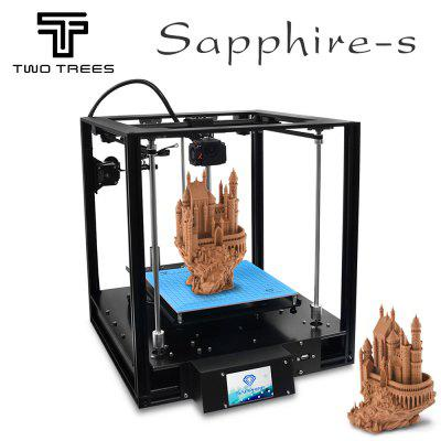 TWOTREES 3D Printer CoreXY BMG Extruder 235x235m SapphirePro DIY Kits 3.5 inch touch screen