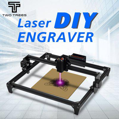 TwoTrees 2500MW CNC laser Engraving Machine 450x400mm Large Engraving Area Laser Engraving Machine
