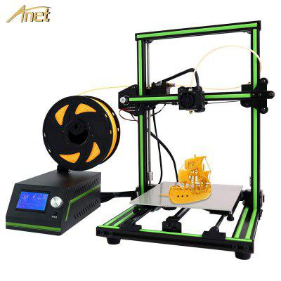 Anet E10 2019 Best Price 3D printer Print DIY Kits FDM impresora 3d - E10 with 10 Meter filament