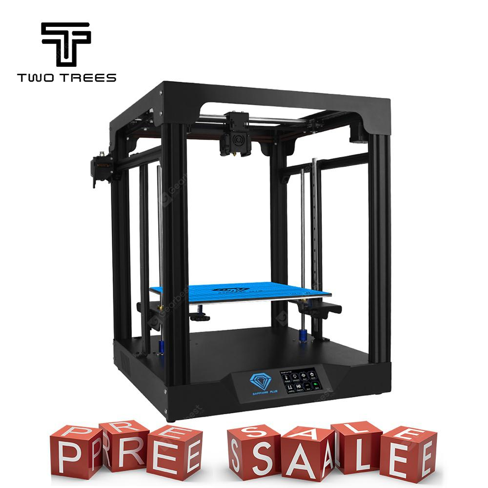 Gearbest Two Trees Sapphire Plus Metal 3D Printer 3.5 inch Touchscreen Linear Guide_Core XY_TMC2208 Driver