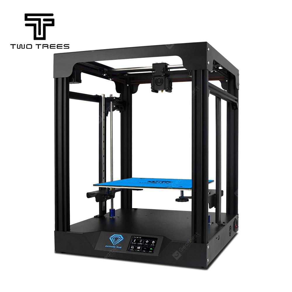 Two Trees Sapphire Plus Metal 3D Printer 3.5 inch Touchscreen Linear Guide_Core XY_TMC2208 Driver
