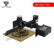 TWO TREES 2500mW 5.5W 450nm Laser Engraving Machine offline with LCD CNC Cutting Machine