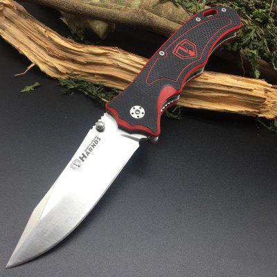 Harnds CK7006 Blazer Folding Knife with 9Cr18MoV Blade G10 Handle Liner lock with Clip
