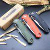 Harnds CK6119 Pollux Folding Pocket Knife with AUS-8 Blade G10 Handle HRC58-59Blade With Liner-Lock
