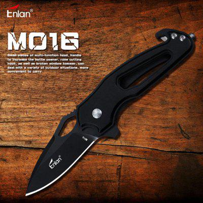 Enlan M016 Mini Folding Knife 8cr13mov with Blade Outdoor Camping survival Pocket Knife