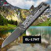 Enlan EL-17HT Top Quality Blade Anti-slip G10 Handle Pocket Knife 8cr13mov With Clip Hunting Camping