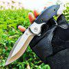 VOLTRON V21 V22 Folding Knife with 8cr178mov blade G10 Handle with Ball Bearing Liner Lock
