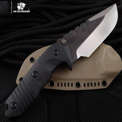 HX OUTDOORS D-169 warrior tactical straight knife survival with D2 BLADE Military Collection knives